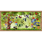Spring Wood Signs -Think Spring GS 1597 GiggleSticks Wood Plaque