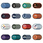 NFL (AFC) BEAUTIFUL, 4 PACK VINYL COASTER SET FROM DUCKHOUSE SPORTS $13.0 USD on eBay