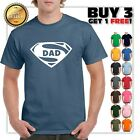 Super Dad T-Shirt Funny Superhero Father's Day Tee Shirt