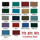 US 7/8/9ft Worsted Billiard Pool Table Cloth Billiard Felt with Cushion Rail $50.38 USD on eBay