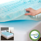 Orthopedic Egg Crate Foam Mattress Topper Firm Soft Pad Twin Full Queen KingSize image