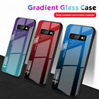 Tempered Glass Phone Case For Samsung Galaxy S10 Plus S10e S9 S8