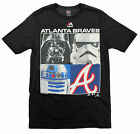 MLB Youth Atlanta Braves Star Wars Main Character T-Shirt, Black on Ebay
