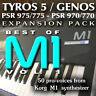 KORG M1 - Expansion Pack for Yamaha Arrangers (Genos, Tyros 5, PSR 975 etc)