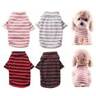 Pet Dog Clothes Striped Shirts Sleeves Two Leg Clothes For Small Medium Dog Hell