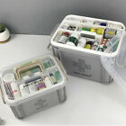 2Layers Health Pill Medicine Chest First Aid Kit Case Storage Box Container
