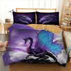 Summer Newly Dragon Duvet Cover Set Twin/Queen Size Bedding Set Animal  image