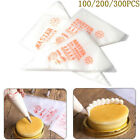 100-300x Plastic Disposable Pastry Bag Icing Piping Cake Cupcake Decor Bags GIFT
