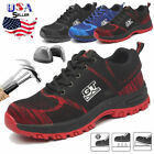 Men's Safety Work Shoes Steel Toe Boots Outdoor Sneakers Hiking Climbing Sport 9