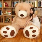 1.6-2.6m Giant Skin Bearskin Teddy Bear Big Unfilled Plush Toy DIY For Gift UK