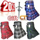 CT Men  s Scottish Traditional Kilts, 5 Yard, 13oz, Various Tartan with FREE PIN