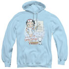 Betty Boop Nurse Betty with EYECHART Licensed Adult Sweatshirt Hoodie $43.9 USD on eBay