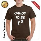 Daddy to be T-shirt Fathers Day Gift New Dad Papa Father Funny Graphic Tee