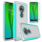 For Motorola Moto G7/G7 Power/Plus/Play/Supra Phone Case Cover+Screen Protector