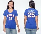 Ben Simmons #25  Philadelphia 76ers Jersey Style NBA - Graphic T-Shirt Women's on eBay