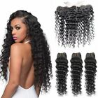 Brazilian 13*4 Pre-Plucked Kinkly Curl Human Hair Silk Base Lace Frontal Closure