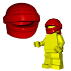 Custom HEAD WRAP for Lego Minifigures Stealth Ninja Insurgent -Pick your Color -
