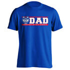 University of West Georgia UWG Wolves Dad Tee Father Parent Short Sleeve T-Shirt