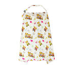 Floral Nursing Cover Apron SOFT Mum Cotton Blanket Cloth 1x Poncho Multi-use