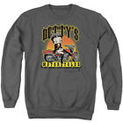Betty Boop BETTY'S MOTORCYCLES Leather Boots Licensed Adult Sweatshirt S-3XL $34.9 USD on eBay