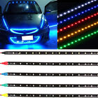 15smd Led Strip Lights 12v Waterproof Car Truck Decoration Light Motorcycle 4pk