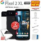 New Factory Unlocked Google Pixel 2 Xl Just Black & White 128gb Android Phone