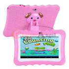 """7"""" Tablet PC 8GB Android Wifi Quad Core Educational Apps Best Gift For Kids US"""