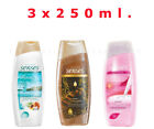 AVON X 3 Senses For Her Shower Gel/Creme,Mixed Set, 250ML.Each,New,Gift Set
