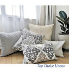 Mix & Match Home Decor Sofa Pillow Grey/charcoal/cream Damask Cushion Cover