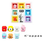 Official BTS BT21 Airpods Silicone Cube Case Cover With Instagram Photo Card
