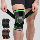 AOLIKES Sport Weight Lifting Knee Wraps Supports Bandage Straps Sleeve Brace Men $13.29 USD on eBay
