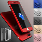 Case for iPhone 8 Cover 360 Luxury UltraThin Slim Shockproof Hybrid Silicone