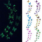 12pcs Luminous Butterfly Wall Sticker Glow In The Dark Magnetic Home Wall Decor for sale  Shipping to Nigeria