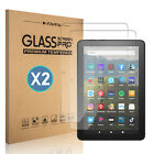 """For Amazon Kindle fire 7"""" / HD 8"""" 2020 Tablet HD Tempered Glass Screen Protector"""