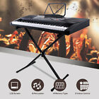 61 Key Music Digital Electronic Keyboard Electric Piano Organ LED/LCD Display