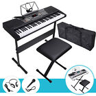 Kyпить 61 Key Music Digital Electronic Keyboard Electric Piano Organ LED/LCD Display на еВаy.соm