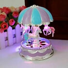 LED Music Box Toys for Girls Merry-Go-Round 6 7 8 9 10 11 Year Old Kid Birthday