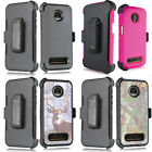 For Motorola Z4 Play/ Protective Armor Holster Case/ Full Screen Coverage