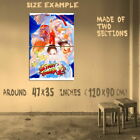 187674 Street Fighter 2 Retro Game MAME Arcade Snes Wall Print Poster UK