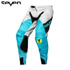 Seven Rival Militant MX / Motocross / Off Road Pants Blue/Cement
