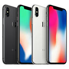 Apple iPhone X A1901 - 64GB - Silver Space Gray (AT&T) Smartphone Good Condition