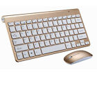 2.4G Mini Wireless Keyboard And Mouse Set For Mac Apple PC Computer