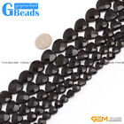 """Wholesale Lot Natural Assorted Shapes Black Agate Beads For Jewelry Making 15"""""""