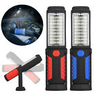 LED COB AAA Battery Work Light Flexible Torch Magnetic Inspection Flashlight US