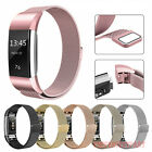 Kyпить For Fitbit Charge 2 Strap Replacement Milanese Band Metal Stainless Steel Magnet на еВаy.соm