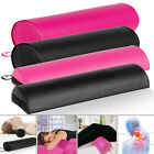 Bolster Full/half Round Foam Leather Bed Pillow Neck Cervical & Lumbar Support