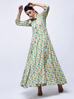 Indian Bollywood Designer Anarkali Gown Kurta Kurti Top Tunic Women Ethnic Dress