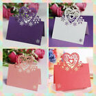 50pcs Decor Invitation Party Wedding Table Name Greeting Cards Place Cards for sale  China