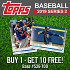 2019 Topps Series 2 Complete Your Set Pick List 526-700 - BUY 1 GET 10 FREE! on Ebay