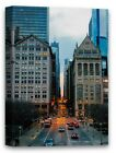 Chicago Canvas Chicago Framed Picture Urban Canvas Chicago Skyscrapers Art Photo